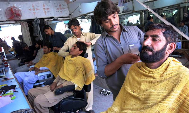 Pakistani Barbers Told Not To Style Beards