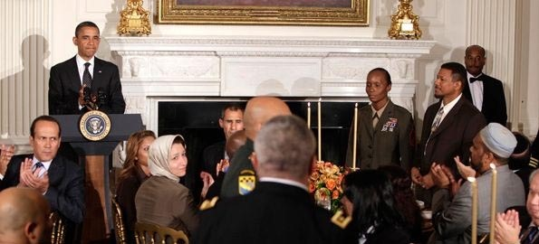 American Muslims attend White House Iftar Dinner