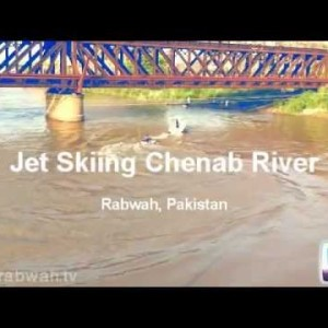 Jet Skiing on River Chenab