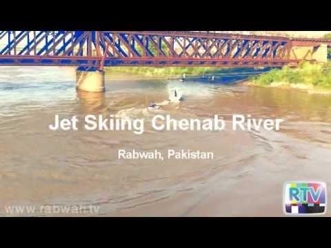 Jet Skiing on River Chenab