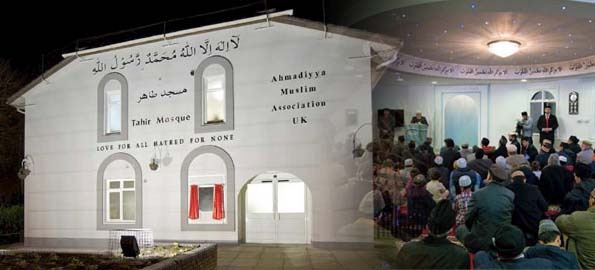 Mayor & MP of Lewisham attend Mosque opening in Catford, London