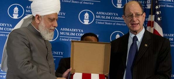 US lawmakers show support for Ahmadiyya