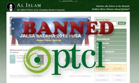 Pakistan blocks Ahmadiyya community's website