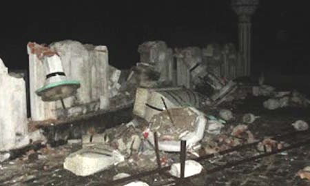 Ahmadiyya Mosque minarets demolished in Kharian
