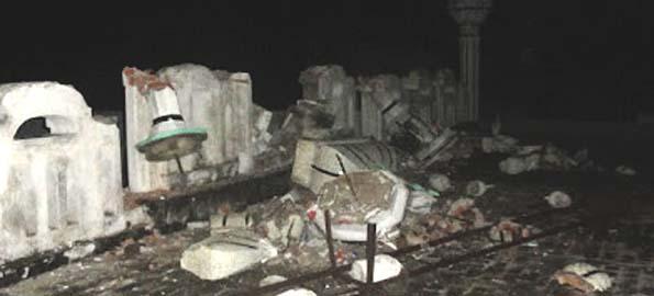Ahmadiyya Mosque minarets demolished in Kharian