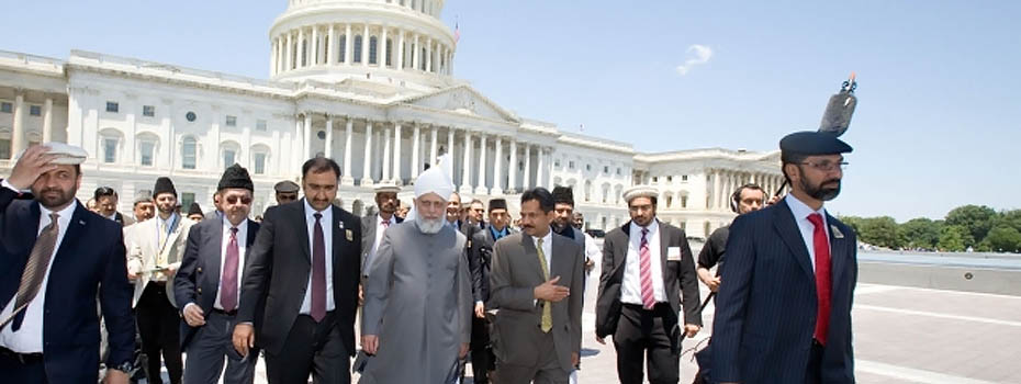 U.S. Congress Honors Khalifa of Islam on Capitol Hill