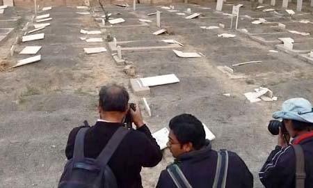 Ahmadi Graves Desecrated in Lahore