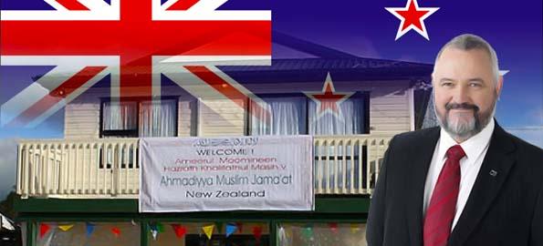Ahmadiyya community condemns anti-Muslim comments by New Zeland MP Richard Prosser