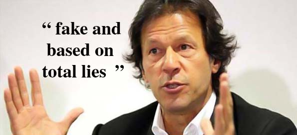 Chairman PTI Imran Khan tries to distance himself from Ahmadis