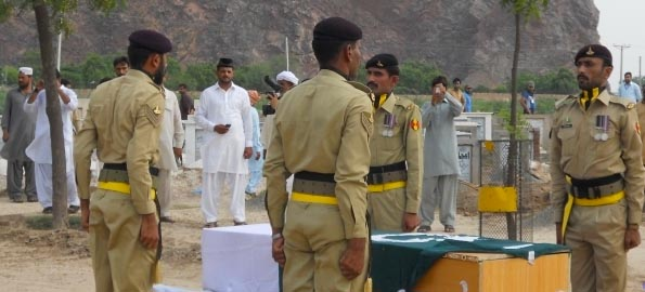 Ahmadi Soldier killed in line of duty buried with full military honours in Rabwah