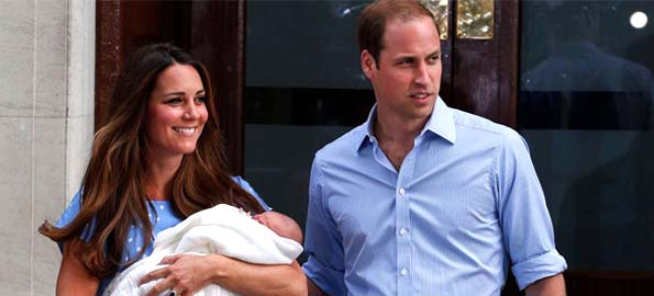 World leaders congratulate British royal family on baby boy