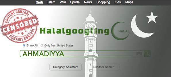 """""""Halalgoogling"""" and the Censorship of Ahmadiyya Islam"""