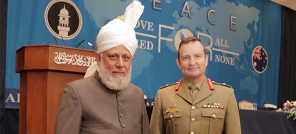 Khalifa of Islam visits Australia
