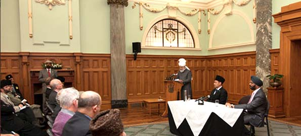 Khalifa of Islam addresses New Zealand's Parliament