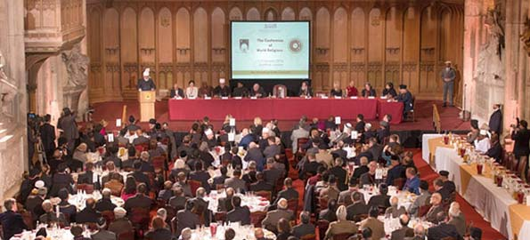 Historic Conference of World Religions Held at Guildhall, London