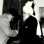 Dr Abdus Salam with 2nd Head of Ahmadiyya Muslim Community