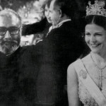 Dr Abdus Salam with Queen of Denmark