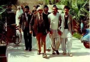 Dr Abdus Salam in Rabwah, Pakistan
