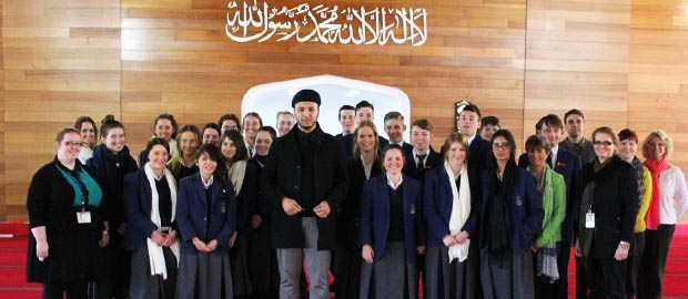 Australian students learn about life inside the mosque