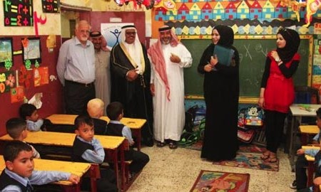 Ahmadiyya charity Humanity First opens school for Syrian refugee children