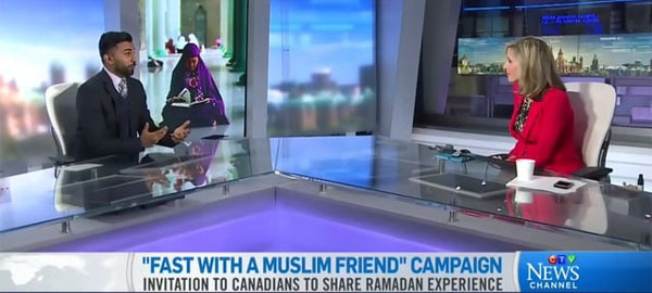 Muslims invite non-Muslims to 'fast with a Muslim friend' during Ramadan