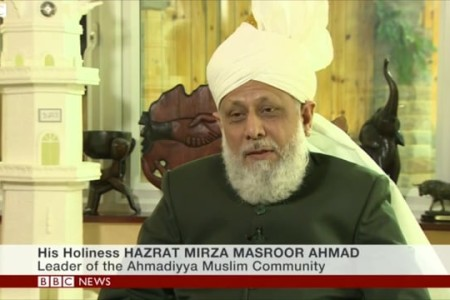 Khalifa of Islam says 'Mosques should have message of harmony and peace'