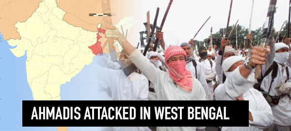 Ten Ahmadiyya Muslims injured in sectarian attack in West Bengal, India