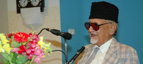 Ch Muhammad Ali, Former Professor and Poet, dies at 98