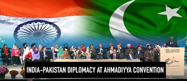 Ahmadiyya convention gives India-Pakistan diplomacy a chance
