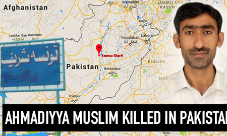 Ahmadiyya Muslim killed in apparent sectarian attack in Taunsa, Pakistan
