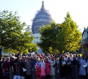 Ahmadiyya Muslim women visit U.S. Congress to discuss youth radicalization