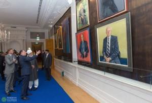 Khalifa of Islam, His Holiness Mirza Masroor Ahmad visits Dutch National Parliament