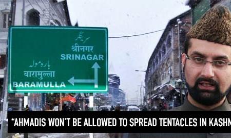 Kashmir separatist leader issues warning against Ahmadiyya Muslim minority