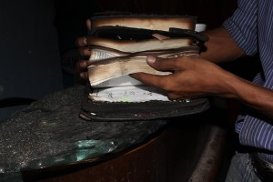 Christian TV set on fire in Karachi