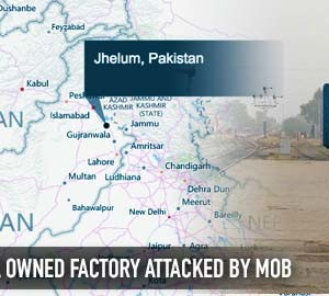 Factory owned by Ahmadiyya Muslims attacked over Blasphemy allegations
