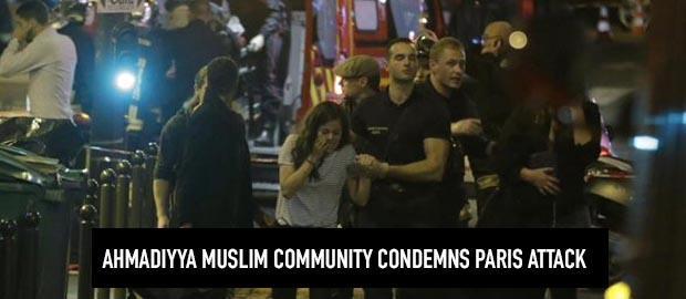 Ahmadiyya Muslim Community condemns Paris Shooting