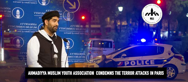Ahmadiyya Muslim Youth Leaders condemn Paris Attack
