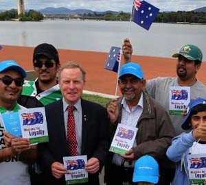Australian of the Year shows his support for Ahmadiyya Muslims