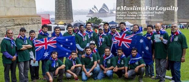 Australian Ahmadiyya Muslims celebrate Australia Day