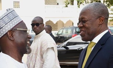 Ghanaian Vice President calls on National President of Ahmadiyya Ghana