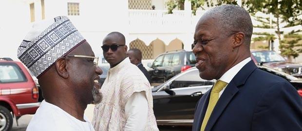 Ghanaian Vice President calls on National President of Ahmadiyya Ghana