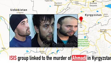 ISIS affiliated group linked to the murder of Ahmadi in Kyrgyzstan