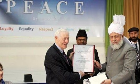 Khalifa of Islam Ahmadiyya pays tribute to rights campaigner Lord Avebury who died aged 87
