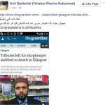 KhatmeNabuwat glorfies Asad Shah's killer