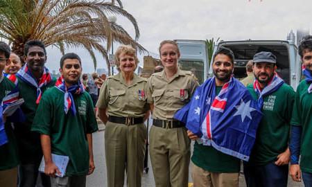 Australian Muslims to take part in Anzac Day dawn service