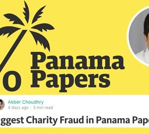 Fact Check: Biggest Charity Fraud in Panama Papers
