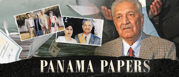 Pakistani nuclear scientist Dr Abdul Qadeer Khan's family named in Panama Papers