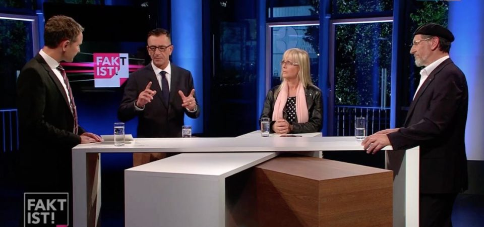 Fakt ist ! : National President Ahmadiyya Germany debates Björn Höcke of AfD