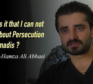 Hamza Abbasi faces death threats over support of Ahmadiyya Muslims
