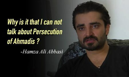Hamza Abbasi faces death threats over support of Ahmadiyya Muslims